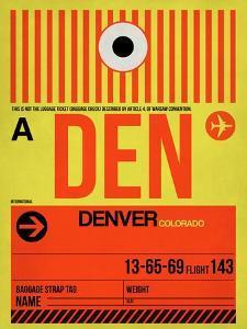 DEN Denver Luggage Tag 1 by NaxArt