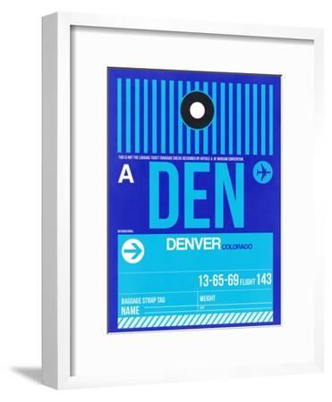 DEN Denver Luggage Tag 2