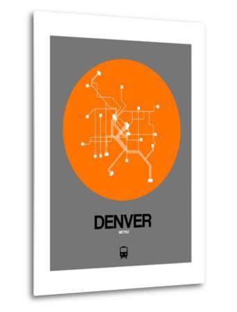 Denver Orange Subway Map