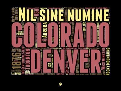 Denver Word Cloud 1 by NaxArt