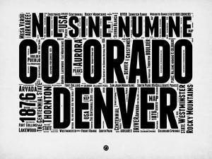 Denver Word Cloud 2 by NaxArt