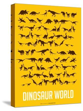 Dinosaur Poster Yellow