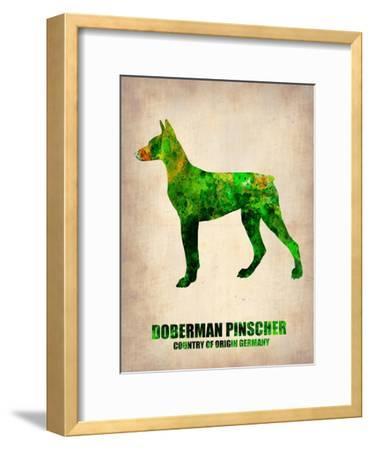 Doberman Pinscher Poster