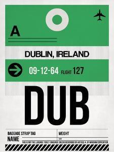 DUB Dublin Luggage Tag 1 by NaxArt