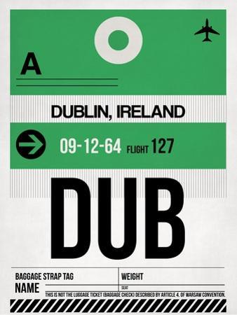 DUB Dublin Luggage Tag 1 by NaxArt