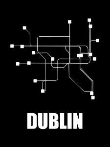 Dublin Subway Map III by NaxArt