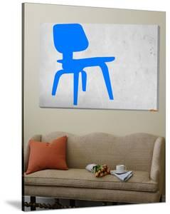 Eames Blue Chair by NaxArt