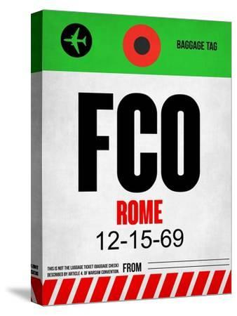 FCO Rome Luggage Tag 1