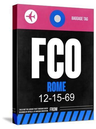 FCO Rome Luggage Tag 2