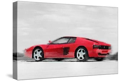 Ferrari 512 TR Testarossa Watercolor