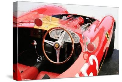 Ferrari Cockpit Monterey Watercolor