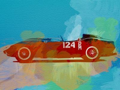 Ferrari Testa Rossa Watercolor 1