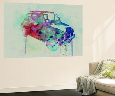 Fiat 500 Watercolor