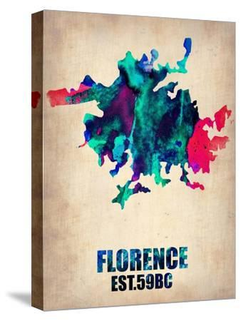 Florence Watercolor Poster