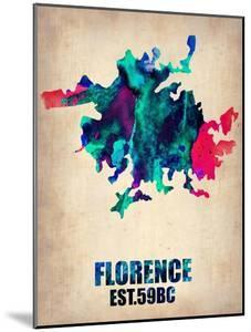 Florence Watercolor Poster by NaxArt
