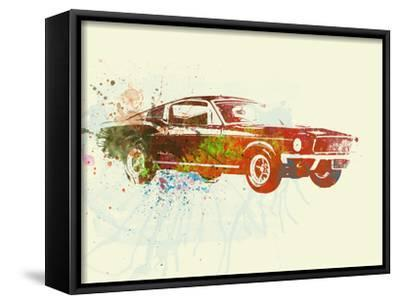 Ford Mustang Watercolor by NaxArt