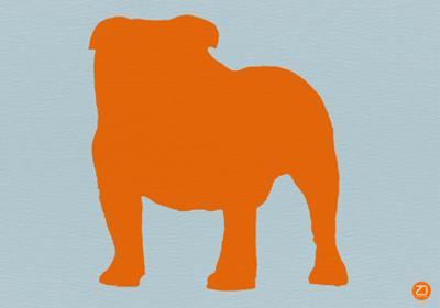 French Bulldog Orange by NaxArt