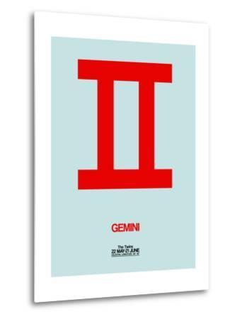 Gemini Zodiac Sign Red
