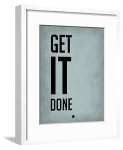 Get it Done Blue by NaxArt
