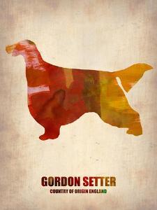 Gordon Setter Poster 1 by NaxArt