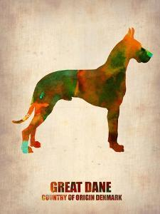 Great Dane Poster by NaxArt