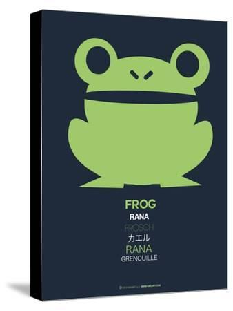 Green Frog Multilingual Poster