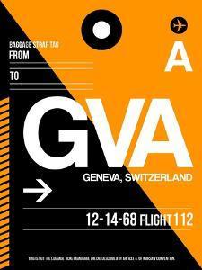 GVA Geneva Luggage Tag II by NaxArt
