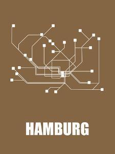 Hamburg Subway Map II by NaxArt