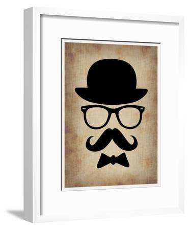 Hat Glasses and Mustache 1