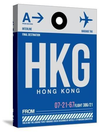 HKG Hog Kong Luggage Tag 1
