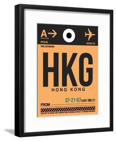 HKG Hog Kong Luggage Tag 2