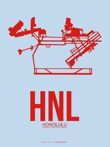 HNL Honolulu Poster 1 by NaxArt