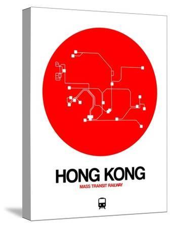 Hong Kong Red Subway Map