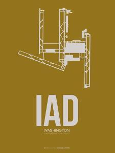 Iad Washington Poster 3 by NaxArt