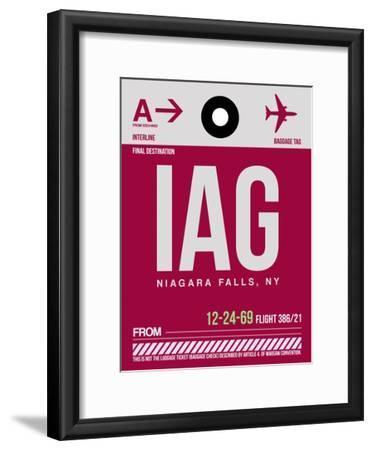 IAG Niagara Falls Luggage Tag I