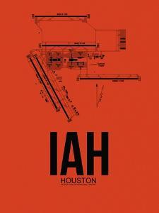 IAH Houston Airport Orange by NaxArt