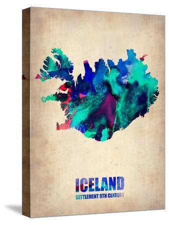 Iceland Watercolor Poster