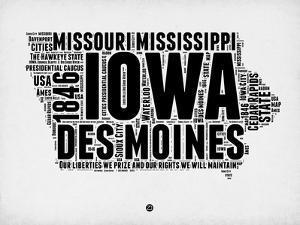 Iowa Word Cloud 2 by NaxArt