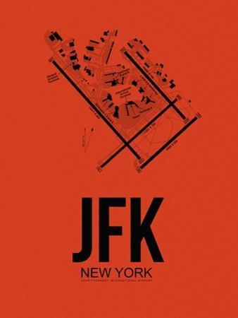 JFK New York Airport Orange by NaxArt