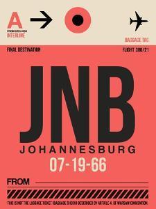 JNB Johannesburg Luggage Tag 2 by NaxArt