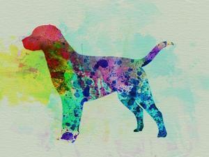 Labrador Retriever Watercolor by NaxArt