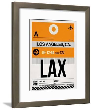 LAX Los Angeles Luggage Tag 2