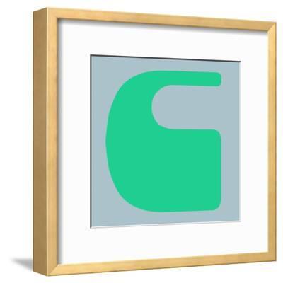 Letter C Green