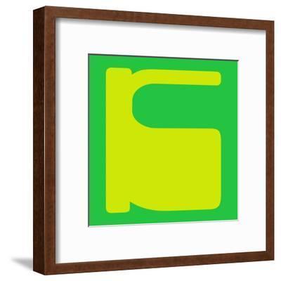 Letter K Yellow