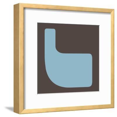 Letter L Blue