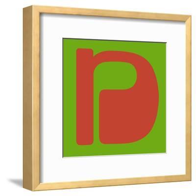 Letter N Orange