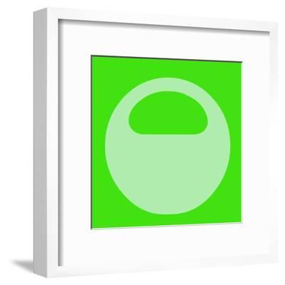 Letter O Green