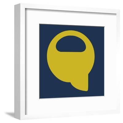 Letter Q Yellow