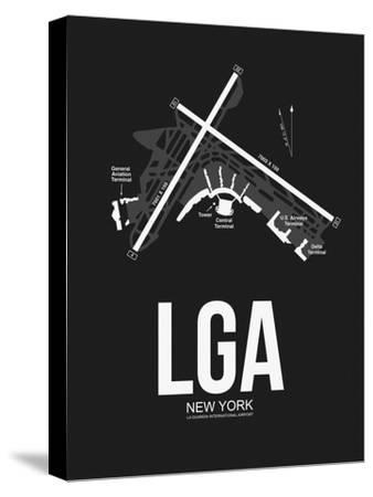 LGA New York Airport Black