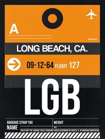 LGB Long Beach Luggage Tag II